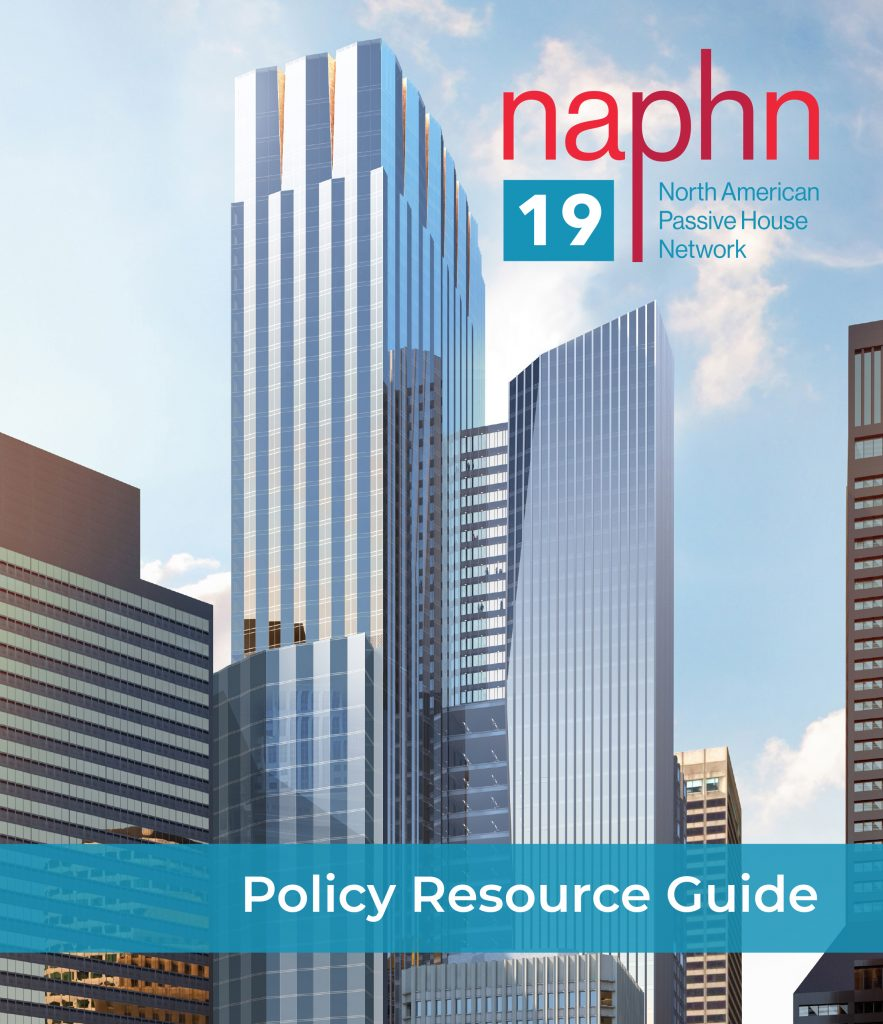 North American Passive House Network_Policy resource guide