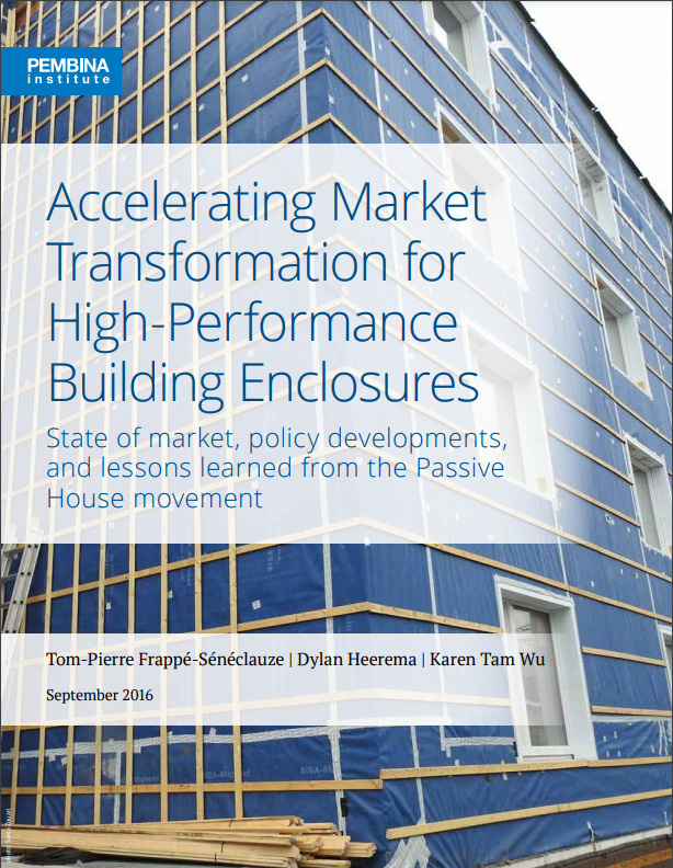 Accelerating Market Transformation for High-Performance Building Enclosures State of market, policy developments, and lessons learned from the Passive House movement