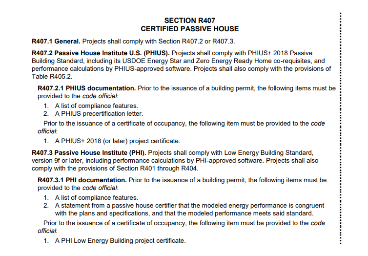 NYS Stretch Energy Code Update with Passive House