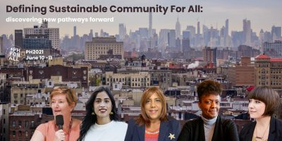 PH2021-Defining Sustainable Community For All