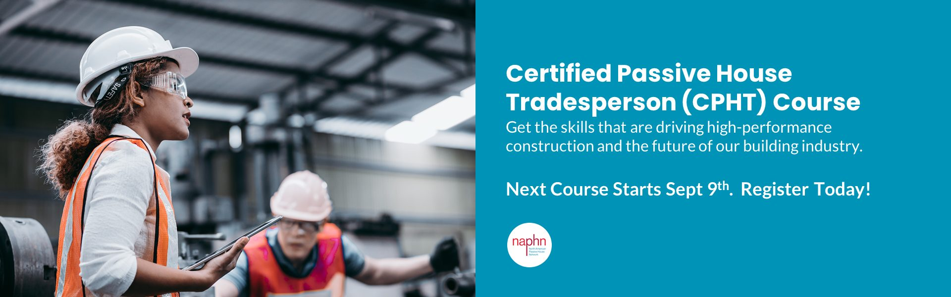 Certified Passive House Tradesperson - CPHT - Course